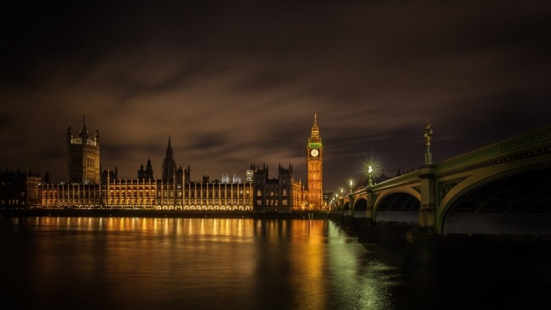 London Palace of Westminster wallpaper