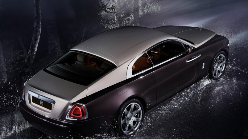 Gorgeous Coupe Rolls Royce wallpaper