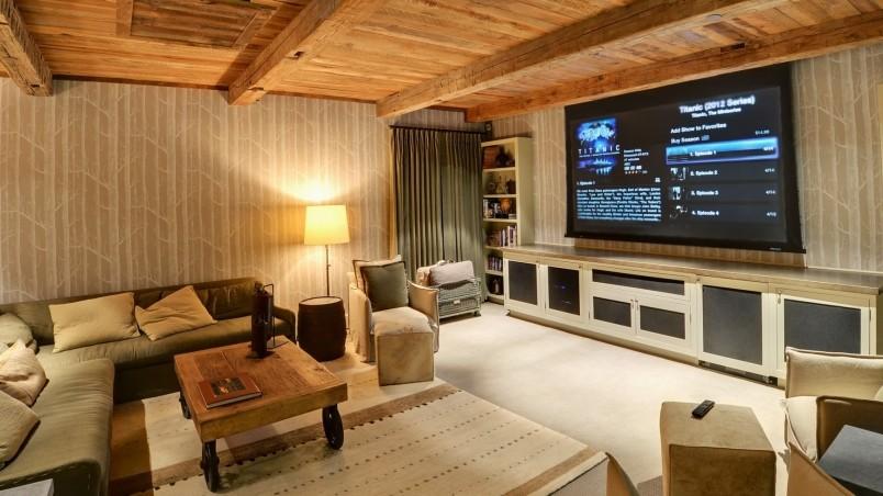 Rustic Living Room HD Wallpaper