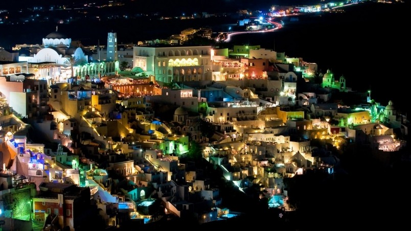 Good Wallpaper Night Greece - preview_santorini-night-view  HD-2510025.jpg