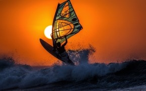 Windsurfing wallpaper