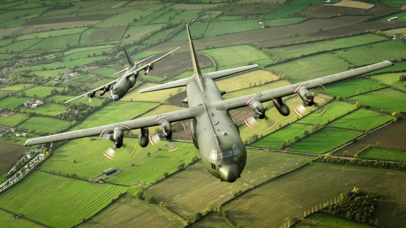 Hercules Aircraft wallpaper