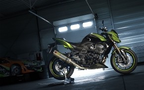 Kawasaki Z750R wallpaper