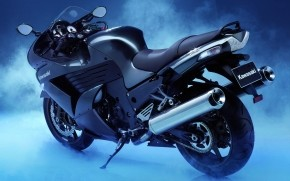 Kawasaki Ninja Black wallpaper