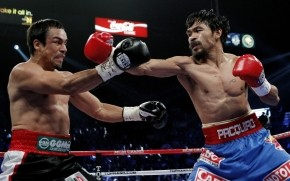 Manny Pacquiao Fighting wallpaper