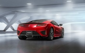 Acura NSX Static Back View wallpaper