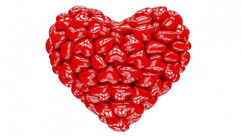 Red heart 3d hd wallpaper wallpaperfx - Heart to heart wallpaper ...