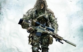 Sniper Ghost Warrior 2 Camouflage wallpaper