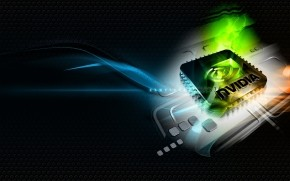 nVidia Windows 7 wallpaper