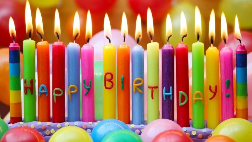 Happy Birthday Candles Hd Wallpaper Wallpaperfx