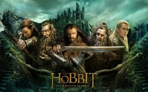 The Hobbit The Desolation of Smaug Poster wallpaper
