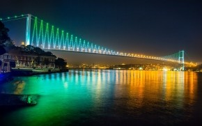 Bosphorus Bridge Istanbul wallpaper