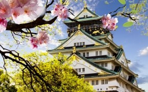 Japanese Castle wallpaper