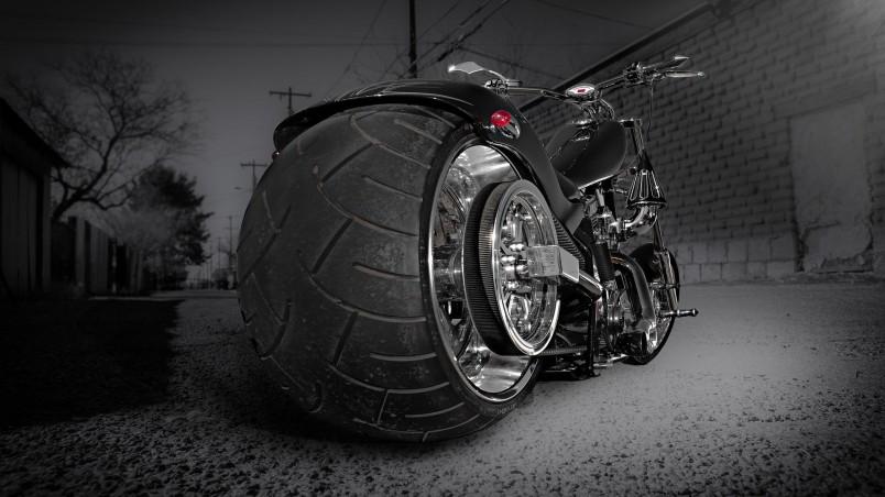 Chopper Motorcycle HD Wallpaper  WallpaperFX