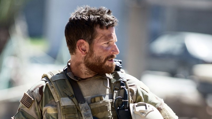 Bradley Cooper in American Sniper wallpaper
