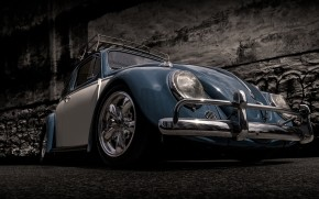 Volkswagen Beetle Retro wallpaper