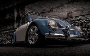 Volkswagen Beetle Retro wallpaper