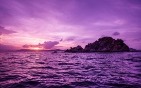 Pelican Island Sunset wallpaper