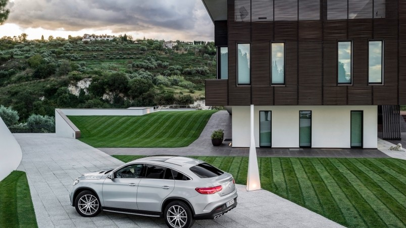 Mercedes-AMG GLE 63 Coupe 2015 HD Wallpaper - WallpaperFX
