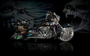 Cool Airbrushed Motorcycle wallpaper