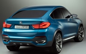 BMW X4 Back View wallpaper