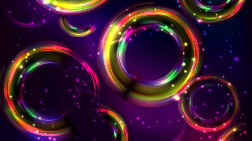 Colorful Circles wallpaper
