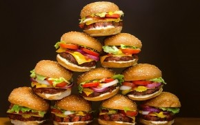 Hamburgers  wallpaper