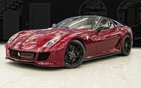 Ferrari 599 GTO Red wallpaper