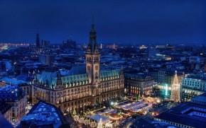 Hamburg Night View