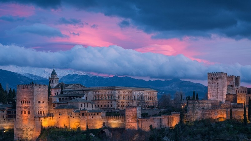moving pictures on iphone alhambra spain hd wallpaper wallpaperfx 15713