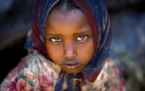Borana Little Girl wallpaper