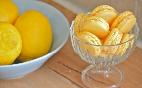 Limoncello Macarons wallpaper