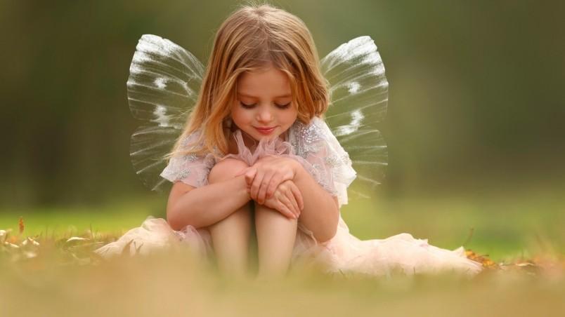 Cute little fairy hd wallpaper wallpaperfx cute little fairy wallpaper voltagebd Image collections