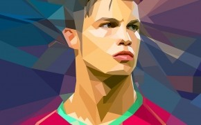 Cristiano Ronaldo Vector wallpaper