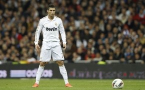 Cristiano Ronaldo Concentrating wallpaper