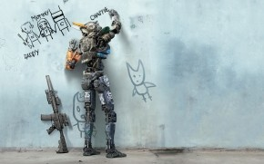 Chappie Movie 2015 wallpaper