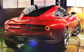 Alfa Romeo Disco Volante wallpaper