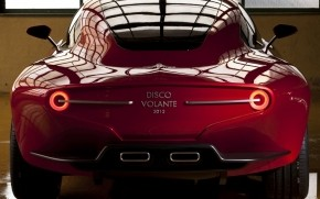 Alfa Romeo Disco Volante 2012 wallpaper