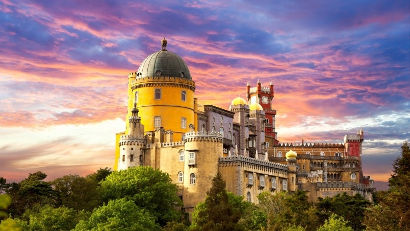 Pena National Palace Portugal wallpaper