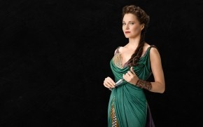 Lucretia Spartacus Blood and Sand wallpaper