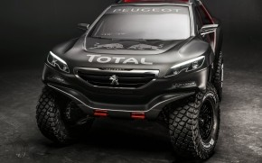 Peugeot 2008 DKR wallpaper