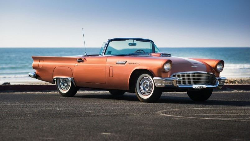 Ford Thunderbird 1957 wallpaper