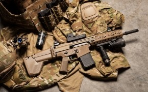 FN Scar Assault Rifle wallpaper