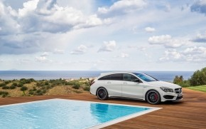 Mercedes CLA 45 AMG wallpaper