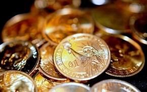 One Dollar Coins wallpaper