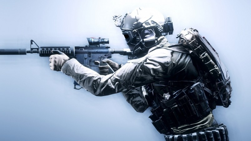 Battlefield 4 Soldier HD Wallpaper - WallpaperFX