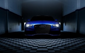 Blue Audi RS5 wallpaper