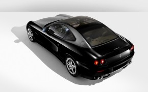 Ferrari 612 Black wallpaper