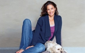 Ashley Judd Smile wallpaper