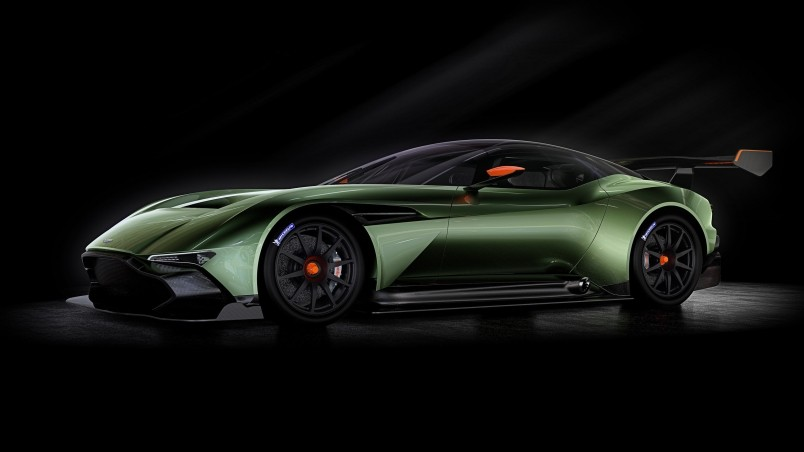 Aston Martin Vulcan Side wallpaper